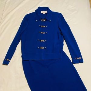 St. John Collection by Marie Gray Blue Suit 6/4